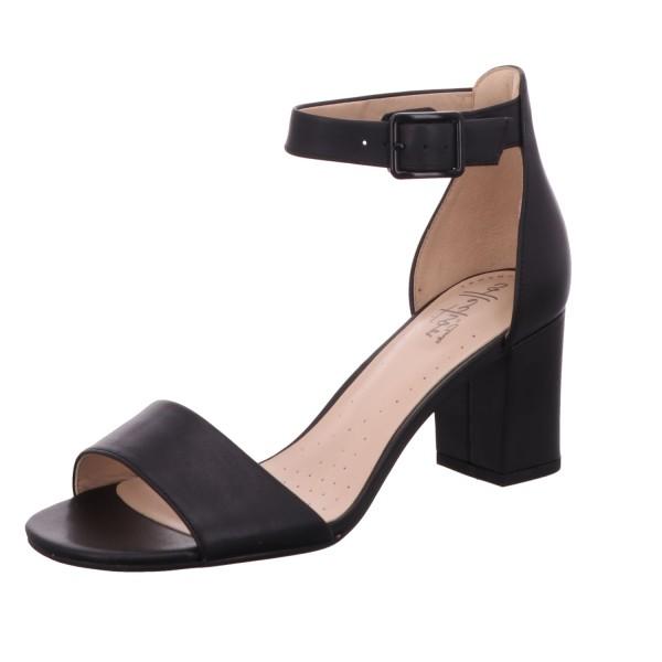 Clarks, Deva Mae Klassische Sandaletten, schwarz